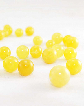 Balls Amber Matte Honey Color From 12mm To 15 Mm Top Grade