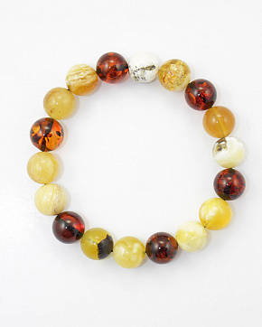 Enchanting Bracelet From Natural Baltic Amber