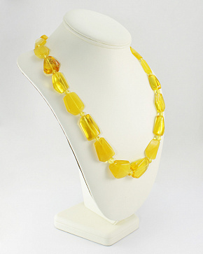 Lemon Candy Beads From Natural Baltic Amber